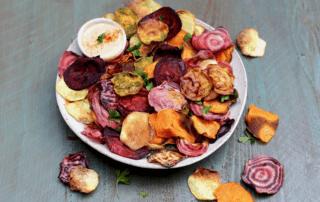 υγιεινά chips