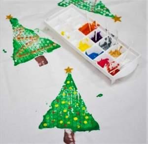 χριστουγεννιάτικο τραπεζομάντηλο #1