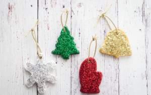 ΡΟΜΠΟΤΕΧΝΙΑ - σπιτικά χριστουγεννιάτικα στολίδια