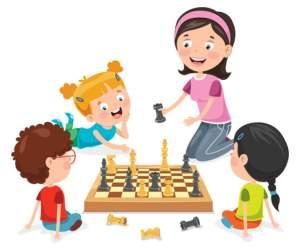 ΡΟΜΠΟΤΕΧΝΙΑ - παιδιά παίζουν σκάκι