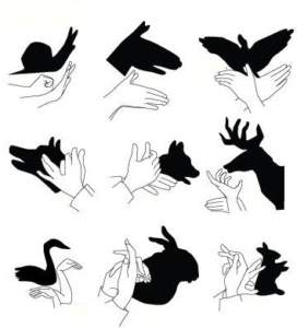ΡΟΜΠΟΤΕΧΝΙΑ - σκιές με τα χέρια