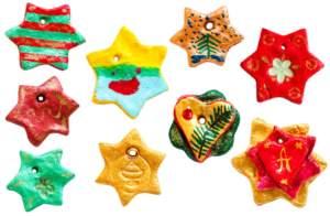 ΡΟΜΠΟΤΕΧΝΙΑ - σπιτικά χριστουγεννιάτικα στολίδια #3