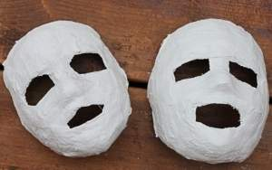 plaster mask project how to