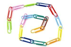 paper clip chain x1